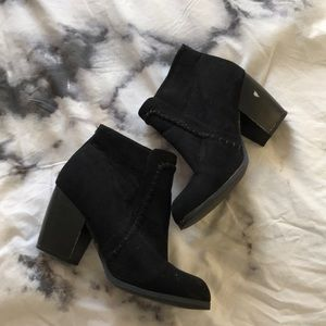 Charolette Russe Black Booties